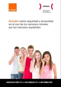 Estudio sobre seguridad y privacidad en el uso de los servicios móviles por los menores españoles